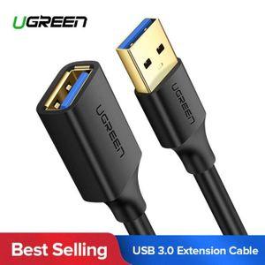 CÂBLE INFORMATIQUE UGREEN 1M USB3.0 Câble d'extension