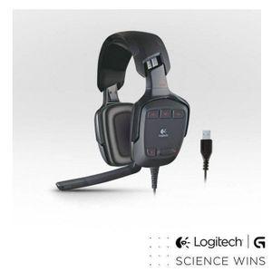 CASQUE AVEC MICROPHONE Logitech casque gaming G35 PC