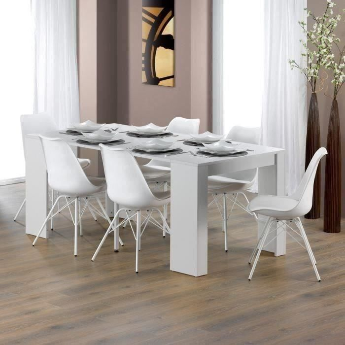 Goomy table console extensible 6 personnes 50 180x90 cm for Table 6 personnes dimensions