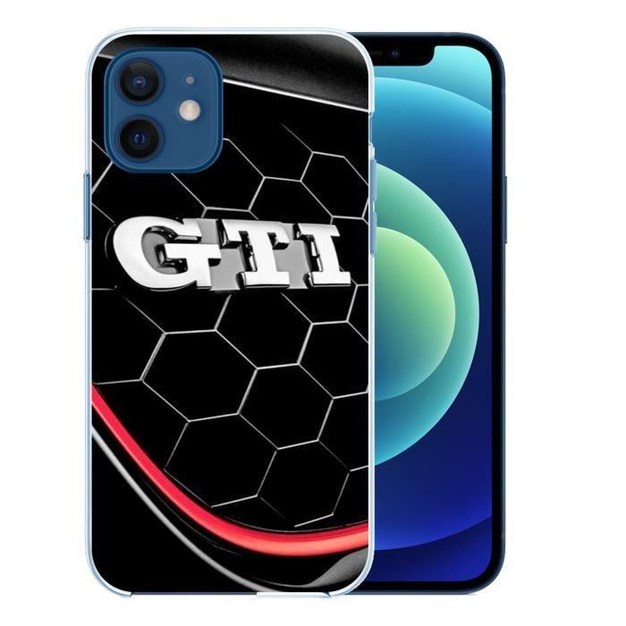 Coque pour iPhone 12 - Vw Golf Gti Logo. Accessoire telephone