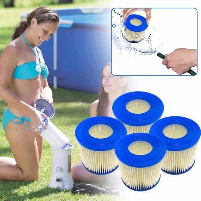 【Kit piscine】Cartouche de filtre de piscine de type D Piscine Spas supérieurs_YU488