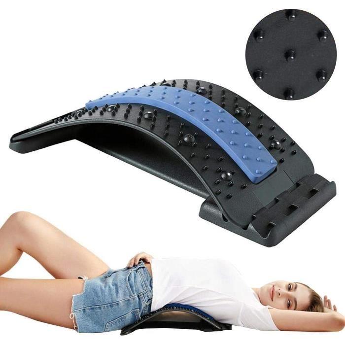 Soutien-dos de correction protection Appareil de stretching de soutien lombaire de civière de dos pour le soulagement des maux