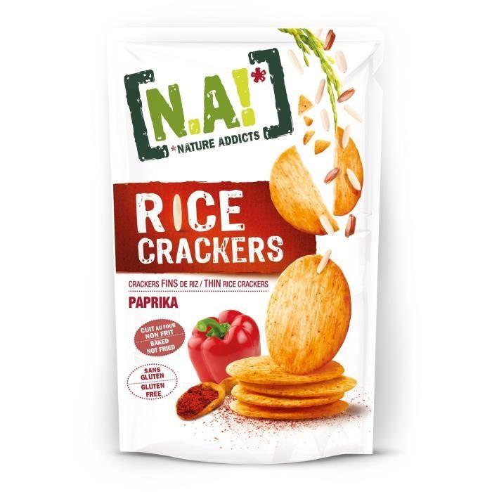 Crackers de riz au paprika 70g N.A!