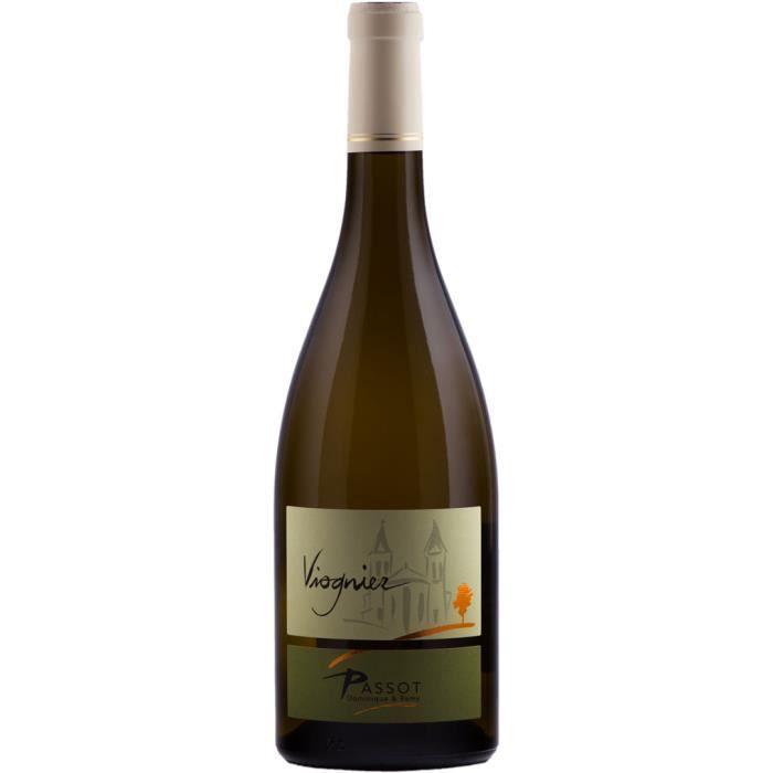 Maison PASSOT Rémy et fils Viognier 2018 Vin de France vin Blanc Beaujolais
