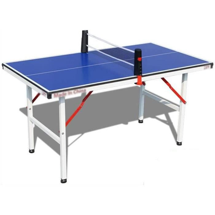 Portable Table de ping-pong, ping-pong int&eacuterieur Mini Pliable Table de tennis de table, Set de table de jeu for enfants[151]
