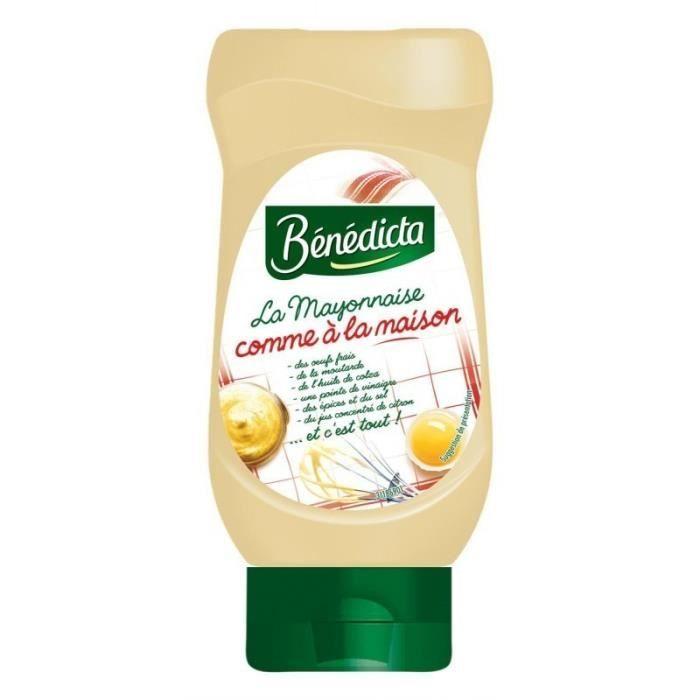 Bénédicta La Mayonnaise Comme à la Maison 390g (lot de 6)