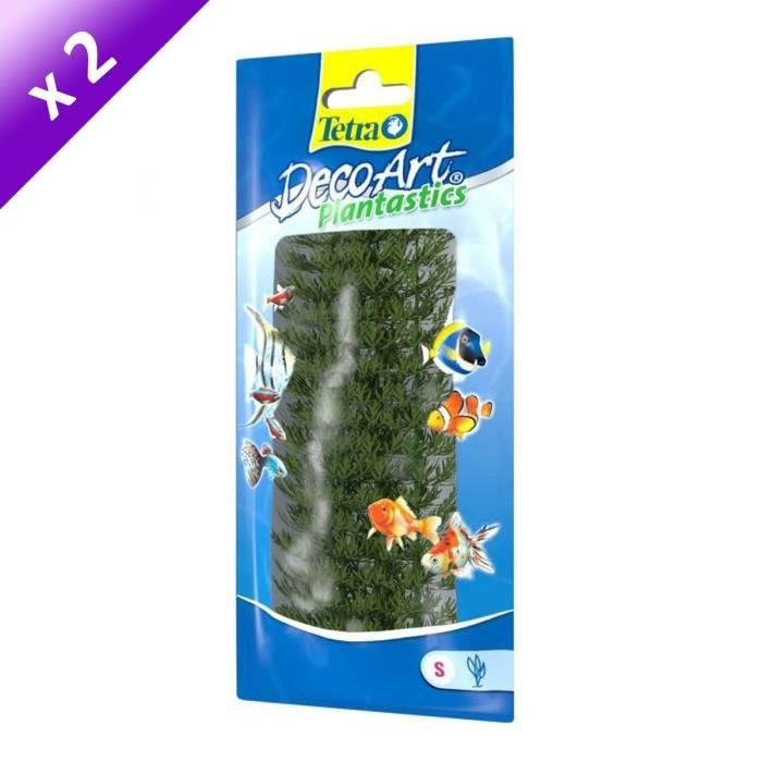 TETRA Lot de 2 DecoArt Plant S Ambullia pour aquarium