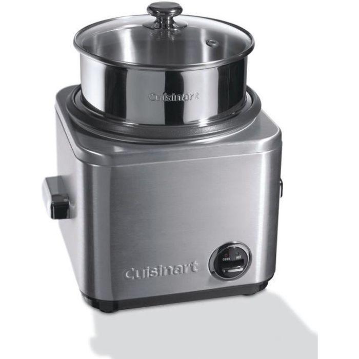 CUISINART CRC800E Cuiseur à riz et céréales - Inox