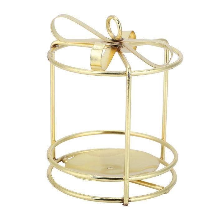 Bougeoir Ornement de porte-bougie pour décoration(taille S de forme ronde)-TIP
