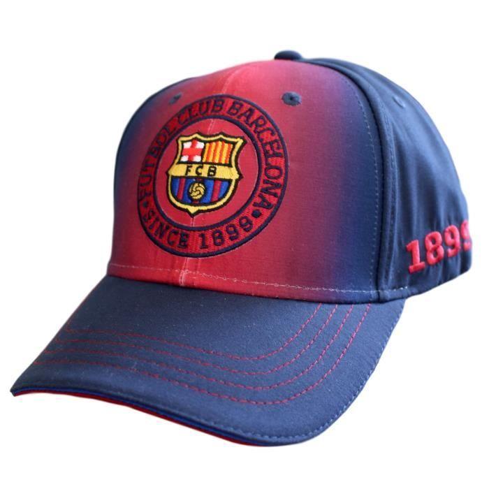 Casquette FC Barcelone Barca Club Messi logo brodé Article sous licence officielle