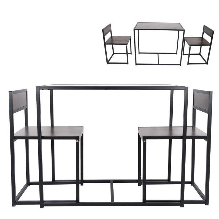 Table de salle de repos Table de cuisine Table à manger économie d'espace cuisine d'appartement de Style industriel moderne