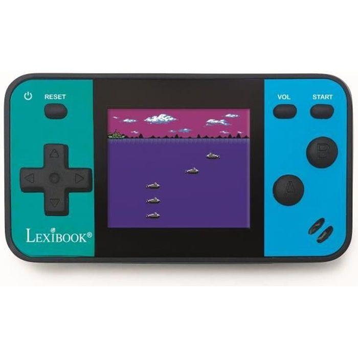 LEXIBOOK Console portable Mini Cyber Arcade® - écran 1.8'' - 8 jeux