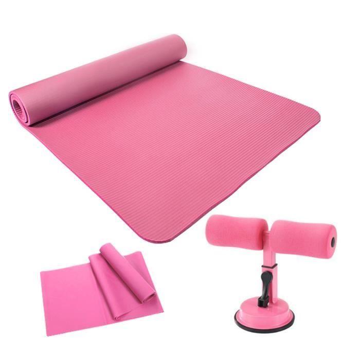 Tapis de pratique de yoga écologique et insipide avec assistant de redressement assis bande de résistance équipement de fitness-490