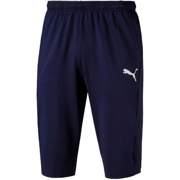 Pantalon de survêtement Puma Liga Training 3-4 Pants coloris Peacoat