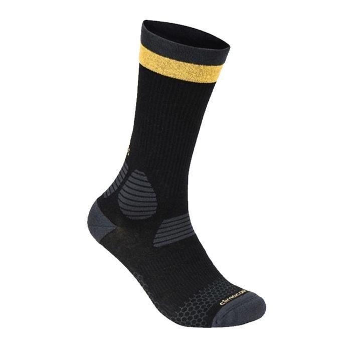 Chaussettes Respirante X SOCKS Noir et jaune AI3696