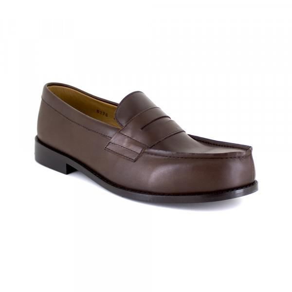 Mocassin J.Bradford Cuir Marron JB-BUNBURY - Couleur - Marron
