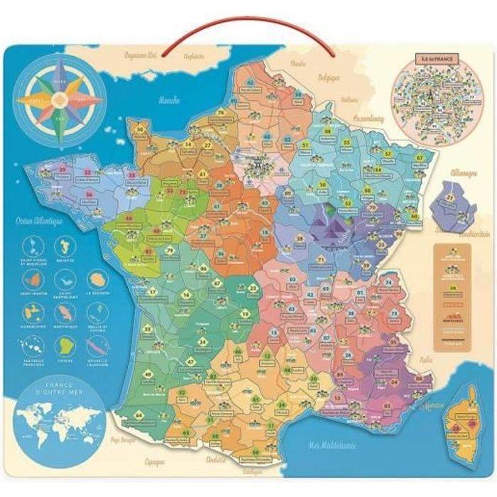 Carte de France éducative