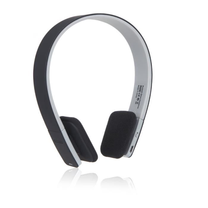 casque st r o bluetooth 4 1 sans fil pour iphone ipad. Black Bedroom Furniture Sets. Home Design Ideas