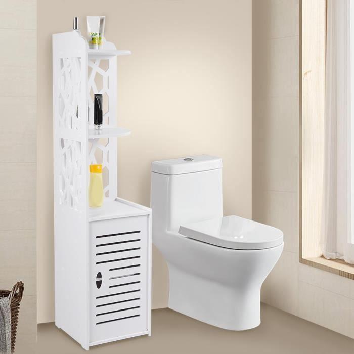 meuble armoire colonne etagere rangement moderne design armoire d angle salle de bain 29x29x120cm xid