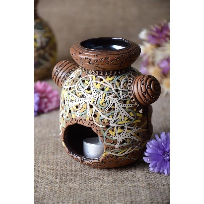 Diffuseur D Huiles Essentielles Bougeoir Fait Main Ceramique Deco Maison 960931908 Achat Vente Bougeoir Chandelier Cdiscount