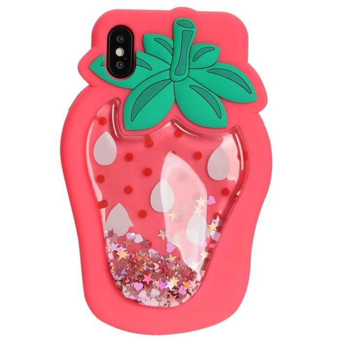 coque iphone 8 plus fraise