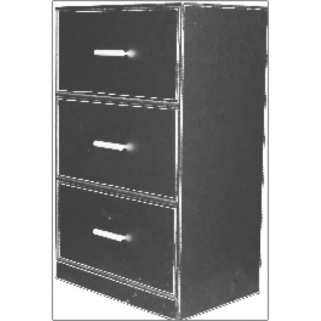 meuble de bureau 3 tiroirs sur 4 roulettes exte achat. Black Bedroom Furniture Sets. Home Design Ideas