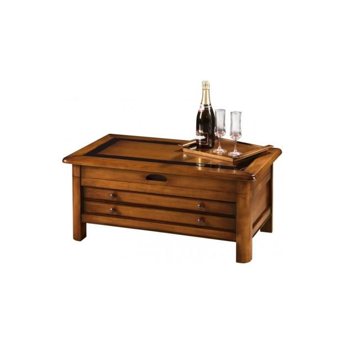 Table basse table basse de bar plateau relevable verre noir - Table basse bar noir ...