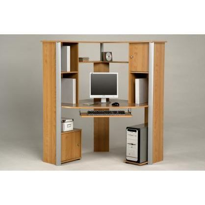 bureau d 39 angle informatique pop achat vente bureau. Black Bedroom Furniture Sets. Home Design Ideas