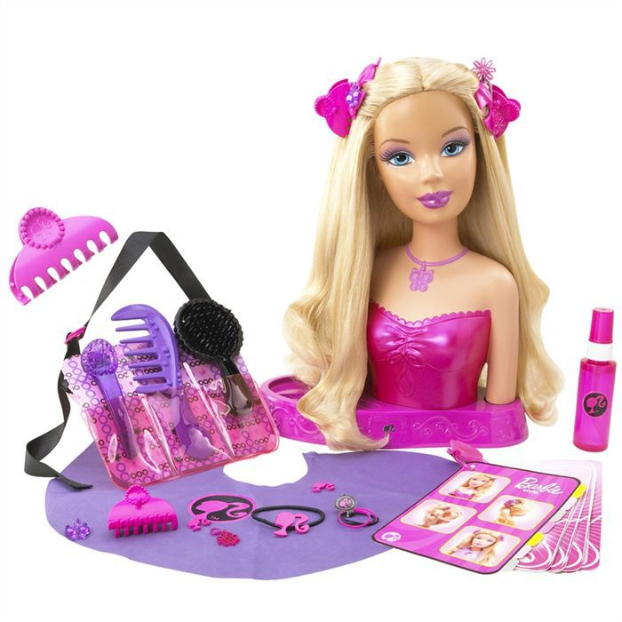 T te coiffer barbie for Salon de coiffure barbie