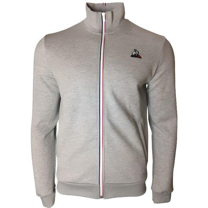 LE COQ SPORTIF - Veste zippée grise N2 Le