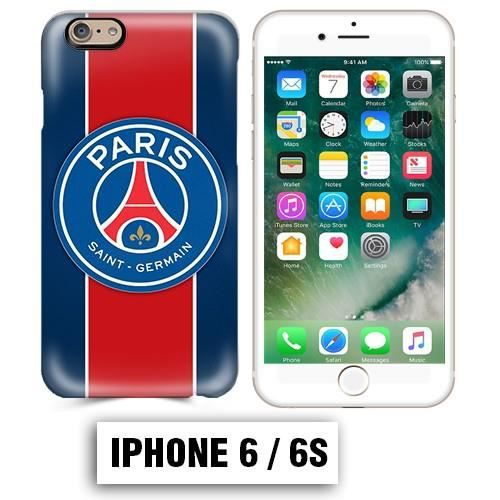 coque iphone 6 6s psg foot