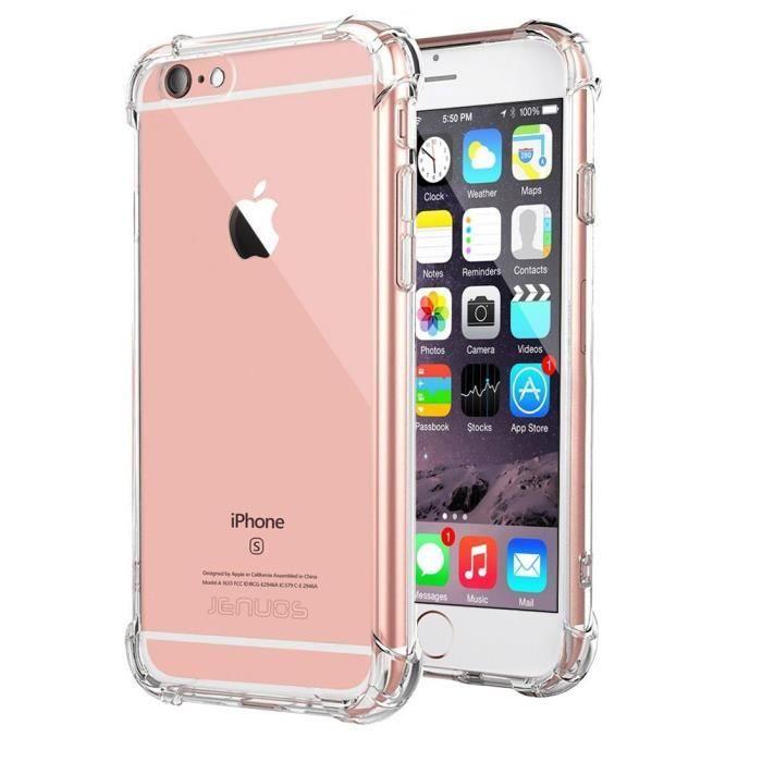 coque pour iphone 6 plus transparent doux souple