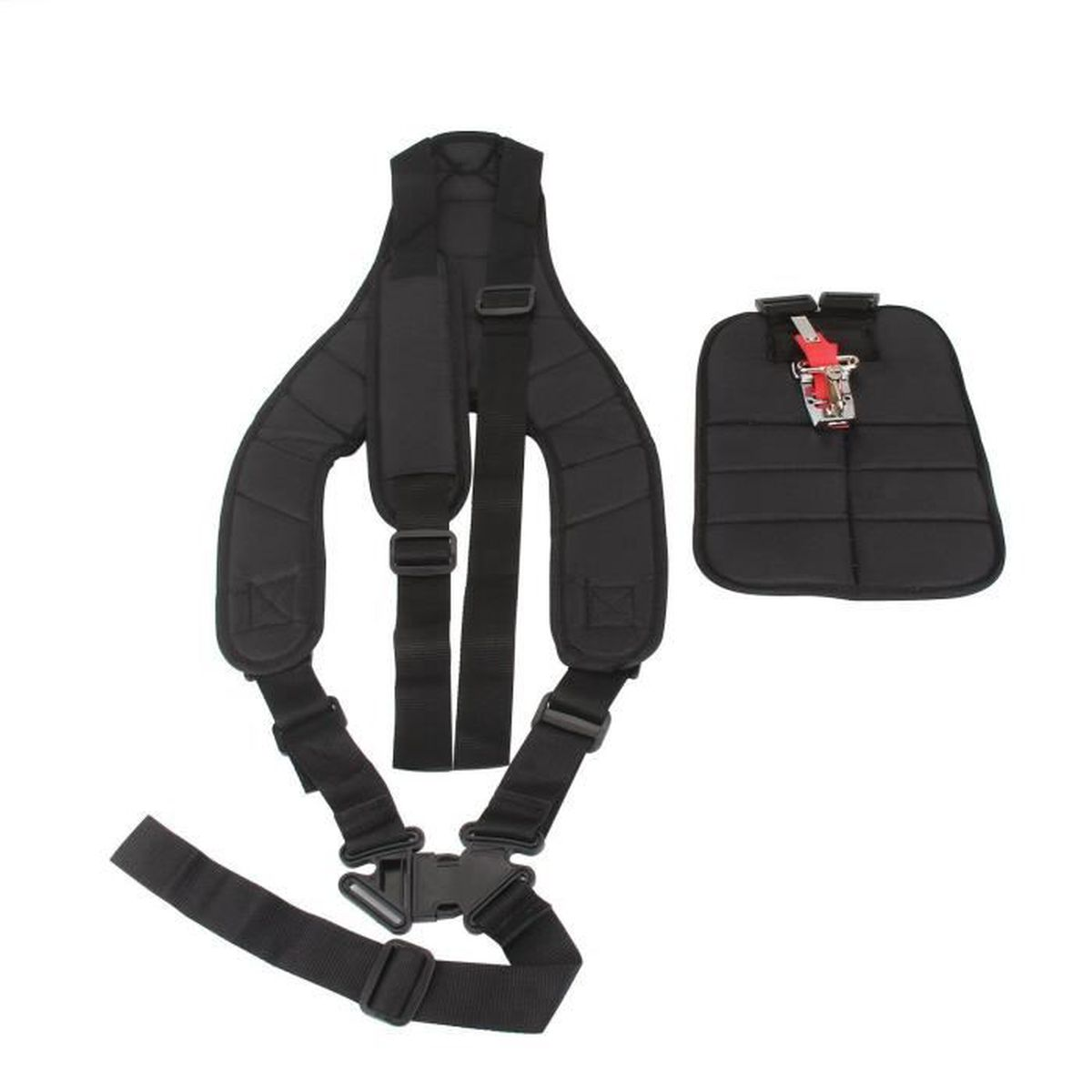 HARNAIS DEBROUSSAILLEUSE DOUBLE PROTECTION LATERALE