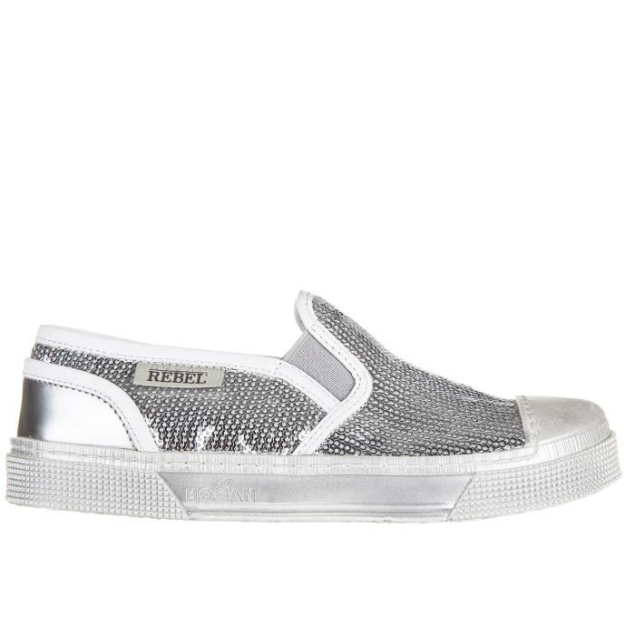 Chaussures baskets sneakers filles en cuirvesr289 slip on Hogan Rebel egW2J5C0NQ