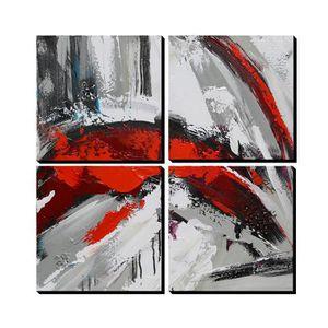 AONBAT Tableaux de peinture à l'huile Peint