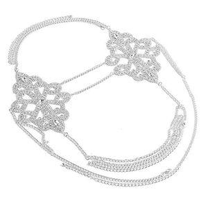 CHAINE DE TAILLE - CHAINE D'EPAULE Chaine De Taille KYCW7 Body Chain Costume Choker B