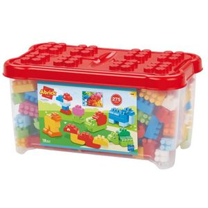 ASSEMBLAGE CONSTRUCTION Coffre 275 pièces - jeu de construction briques -