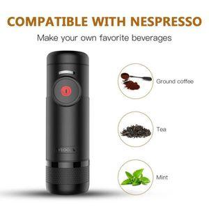 COMBINÉ EXPRESSO CAFETIÈRE LESHP machine à expresso rechargeable portable fai