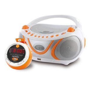 RADIO CD ENFANT Radio CD et radio réveil projection Juicy