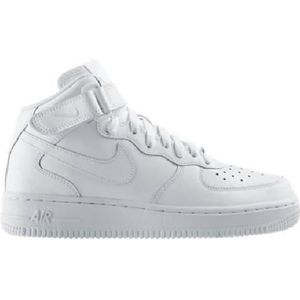 BASKET Baskets Nike Air Force 1 Mid Gs Blanc