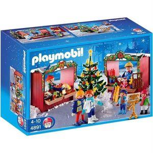 UNIVERS MINIATURE PLAYMOBIL 4891 Marché de Noël