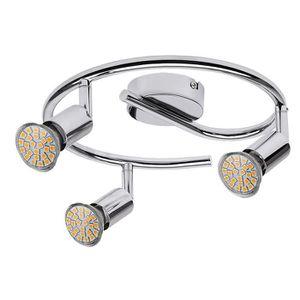 SPOTS - LIGNE DE SPOTS Spot RABALUX Norton LED • Taches • Couleur: chrome