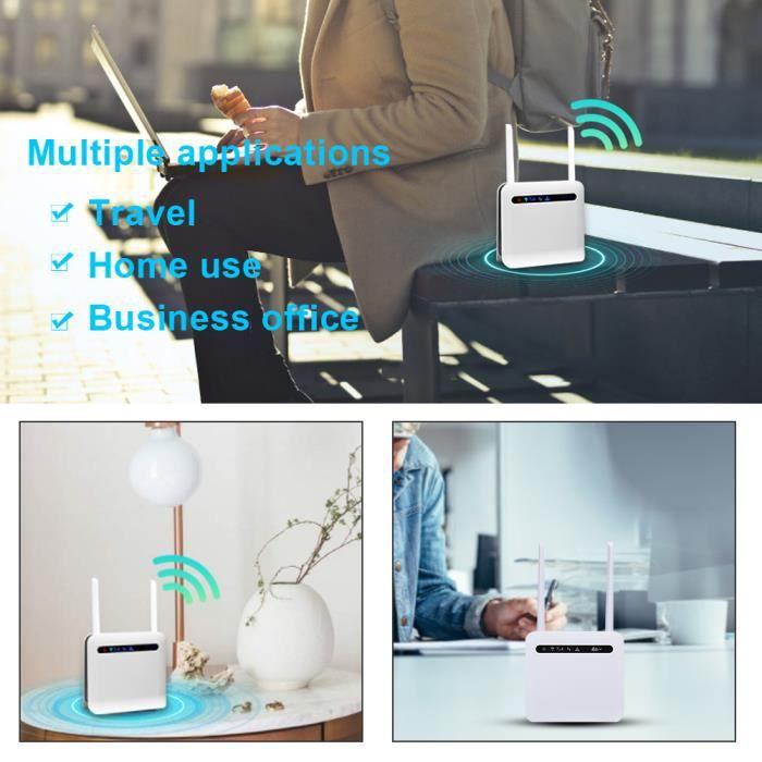 Routeur 4G réseau complet vertical de qualité industrielle...