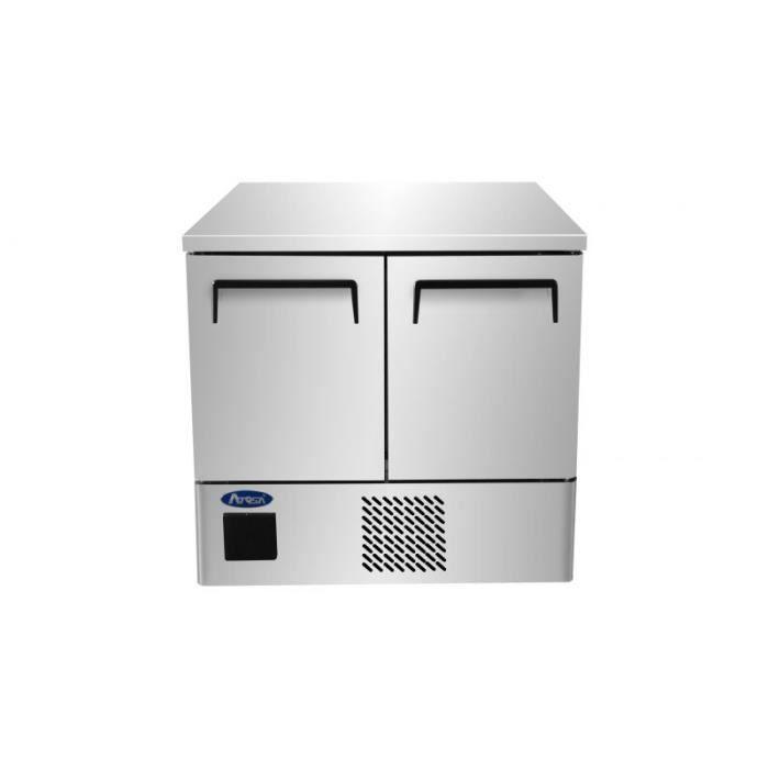 Table Réfrigérée Positive GN 1/1 - 2 Portes 210 Litres - Atosa - 759 - ESF8R