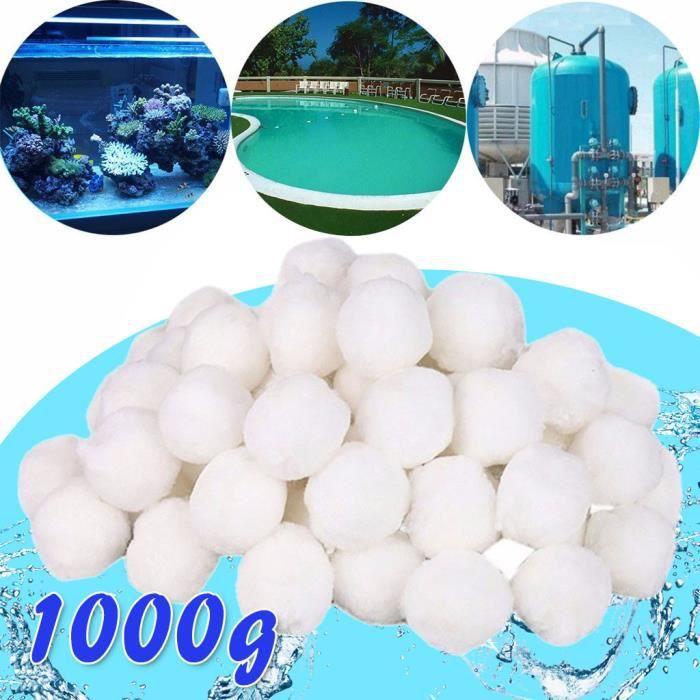 【Kit piscine】Filtre à sable Filtre à sable à billes de quartz Filtre à sable Alternativement Filtre de piscine 1000g_YU1208