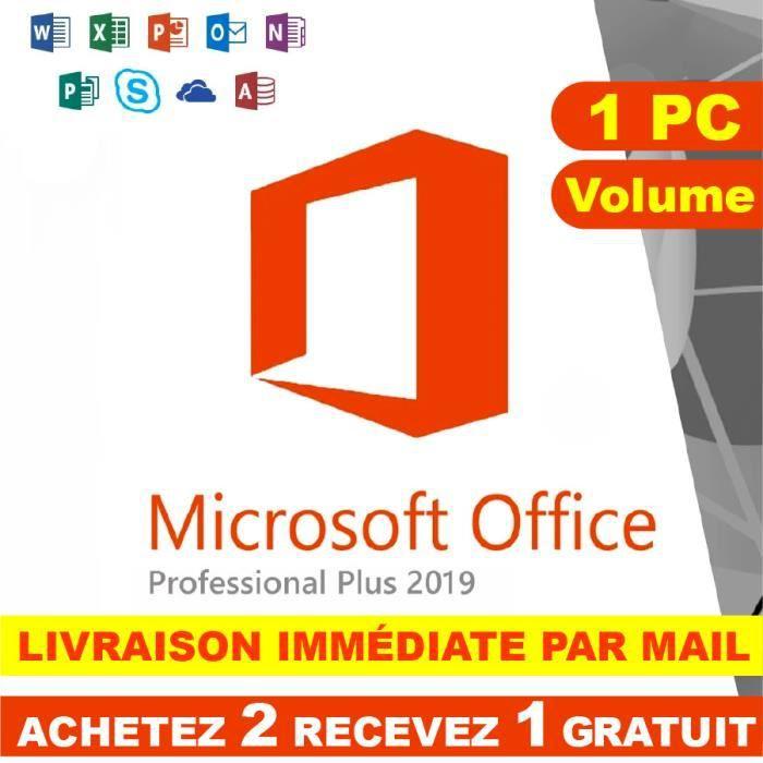 Office 2019 Cdiscount