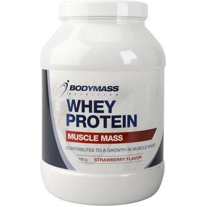 GRAND POT DE POUDRE PROTEINE PURE PROFESIONNEL WHEY BODYMASS MUSCULATION PRISE MASSE