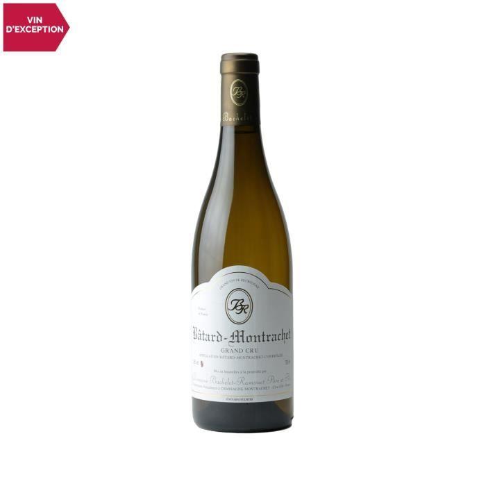 Bâtard-Montrachet Blanc 2019 - 75cl - Domaine Bachelet-Ramonet - Vin AOC Blanc de Bourgogne - Cépage Chardonnay