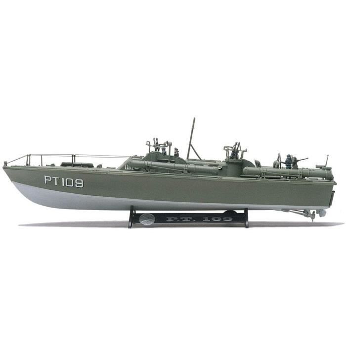 Kits de modélisme de bateaux Revell-Monogram Maquette Bateau PT-109 échelle 1-72, 85-0310, Multicolor 91333