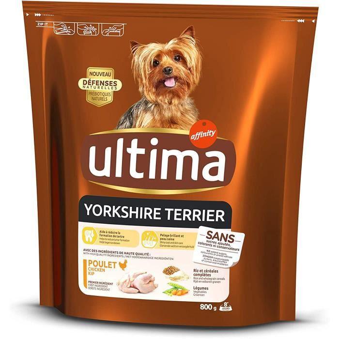 Ultima Croquettes pour Chien Mini Yorkshire Terrier avec Poulet 308831